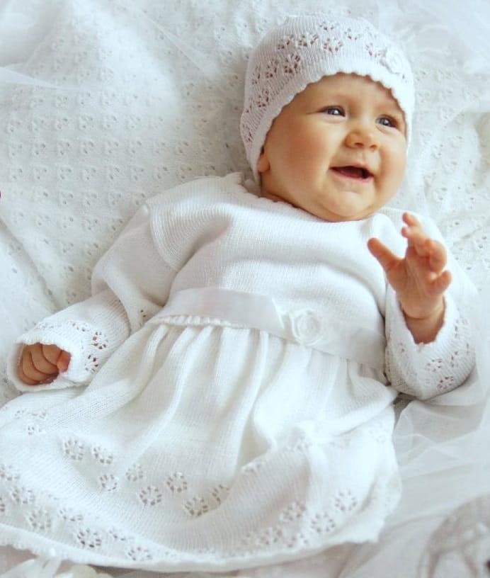 1ab5e96f2e ubranko-sukienka-na chrzest-komplet-do chrztu-dla-dziewczynek- ...